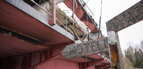 Судебная тяжба держит легендарный отель в руинах
