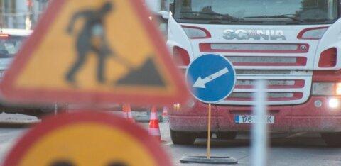 В центре Таллинна закроют в субботу оживленную улицу