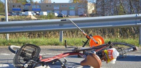 FOTOD | Soojemad ilmad on põhjustanud esimesed rattaõnnetused
