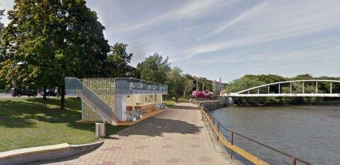 ФОТО | На берегу Эмайыги появятся новые кафе, в том числе и кондитерская Gustav