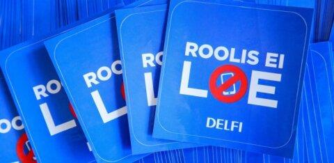 ОПРОС DELFI | Насколько опасно использование телефона за рулем? Участвуйте и выигрывайте призы!
