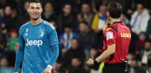 Это не шутка! 18-летний нарвитянин сыграл в чемпионате Италии против Роналду