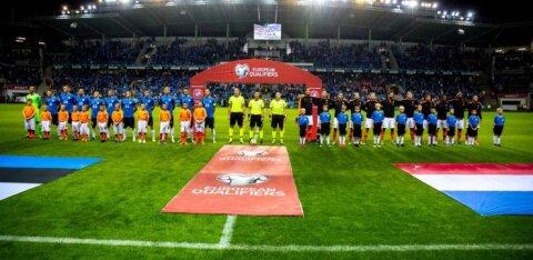Hollandi ja Eesti vahelist valikmängu teenindavad Itaalia kohtunikud