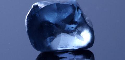 В Ботсване найден редкий синий алмаз