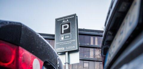 В Таллинне резко выросли цены на парковку
