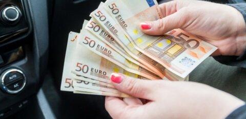 Жители Эстонии считают: предпринимательство приносит до 3000 евро в месяц