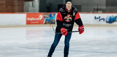 KHL TALLINNAS | FOTO: Äsja Tallinnas käinud Soome rahvuskangelane Marko Anttila pälvis vägeva tunnustuse