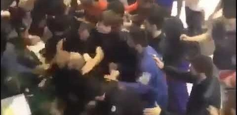 ВИДЕО: Массовая драка российских бойцов джиу-джитсу