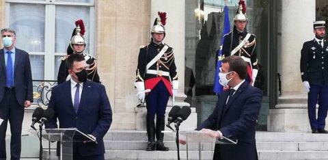 Необходимо противостоять радикализму: Ратас съездил во Францию и поговорил с Макроном