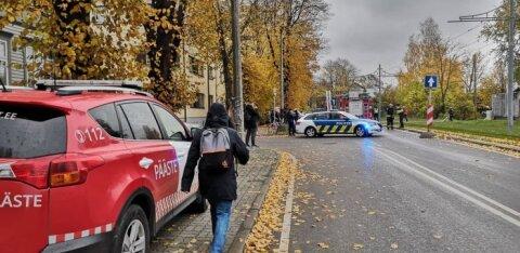 ФОТО: В Пыхья-Таллинне горел дом