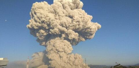 ВИДЕО | На шестом по величине острове в мире проснулся вулкан
