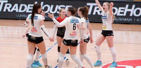 FOTOD | Imelise tagasituleku teinud Tartu jõudis tiitlist ühe võidu kaugusele