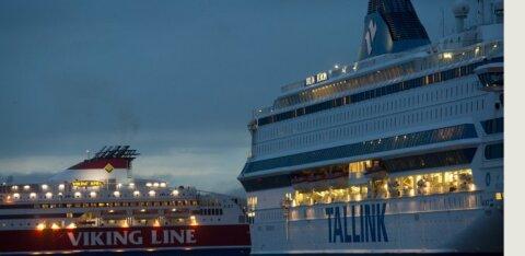 Tallink на одни выходные открывает плавучий торговый центр в Таллиннском порту