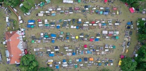 "ФОТО | Смотрите, что продавали на 22-й ярмарке ""Кила-Кола"" в Ярвамаа"
