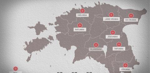 KAART | Vaata, kuidas levis sel nädalal koroonaviirus Tartu kolletes