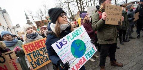 Noorte kliimastreigi korraldajad saatsid EKREI juhtidele pöördumise: riigijuhid, kas kavatsete kliimakriisi lihtsalt pealt vaadata ning tulevased põlved hooleta jätta?