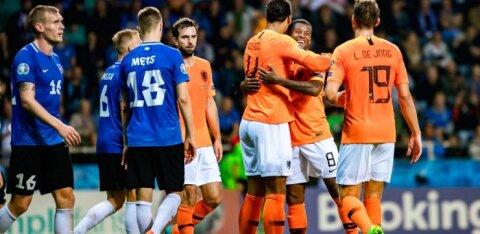Результаты отборочных матчей чемпионата Европы по футболу