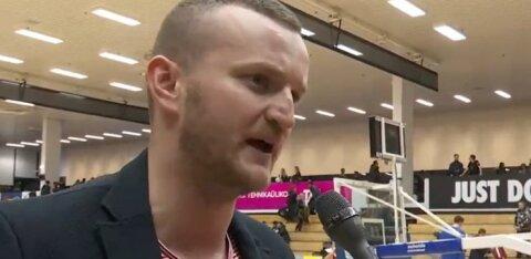 DELFI VIDEO | TalTechi peatreener Kris Killing võiduseeriast: tiim on hakanud minuga aina enam ühte jalga käima