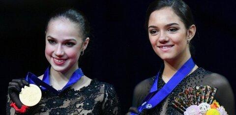 Российские фигуристы выиграли у США медальный зачет чемпионата мира