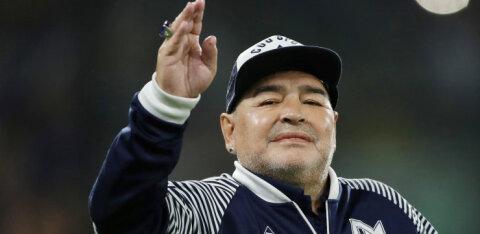 Juubilar Maradona kaotas koroonaviiruse tõttu lähedase: usaldan Putinit, vaktsiin tuleb varsti