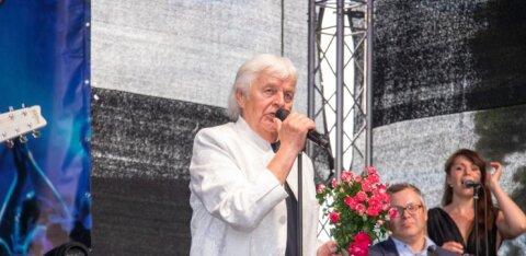 ГАЛЕРЕЯ: Иво Линна отпраздновал 70-ый день рождения большим концертом в Курессааре