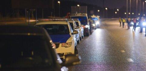 За прошедшие сутки полиция задержала 8 водителей в нетрезвом состоянии