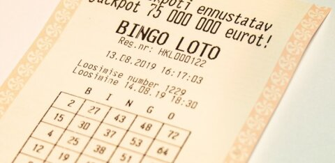 Жительница Тарту выиграла в Bingo loto почти 400 000 евро и намерена потратить деньги на близких