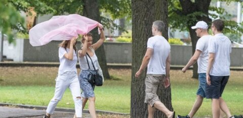 Душно и влажно — лето заканчивается, дожди начинаются. Плавки можно убирать в шкаф!