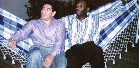 Pele meie seast lahkunud Maradonast: ühel päeval mängime koos taevas jalgpalli