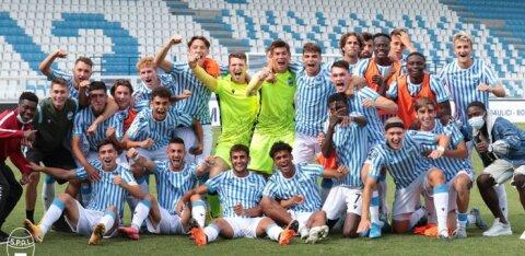 Eesti jalgpallilootus aitas alistada Milano Interi noortemeeskonna