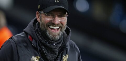 Jürgen Klopp viskas Manchester Unitedile halastamatult puid alla
