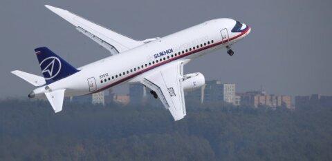 Venemaa lennukite Sukhoi Superjet 100 müük on olnud naeruväärselt vilets