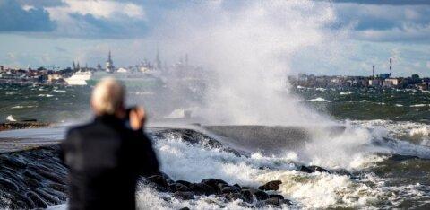 KAART | Torm läheneb! Üle Eesti on oodata väga tugevaid tuuleiile