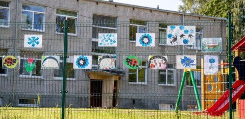 В таллиннском детском саду девочка напоролась шеей на штырь ограды. За год скорая помощь в детсадах понадобилась более 200 раз