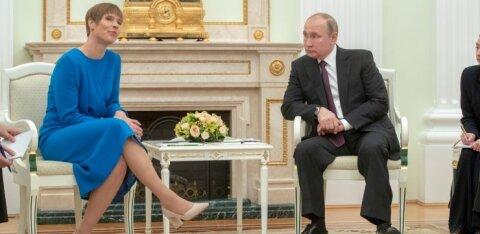 Кальюлайд: разговаривая с Путиным напрямую, Эстония выходит на другой уровень