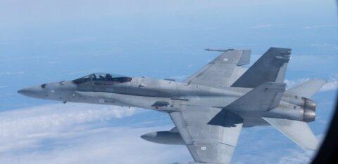 Истребители НАТО сопроводили российский военный самолет над Балтикой