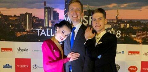 Eesti tantsupaar võitis Pariisis MK-etapi