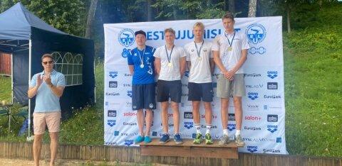 Eesti pikima ujumisdistantsi võitsid Konrad Aleksander Sepp ja Kertu Kaare