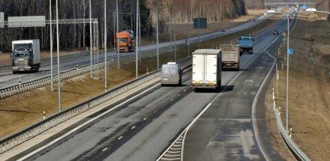 С 1 мая все водители, занятые внутриэстонскими перевозками, должны получать не менее 950 евро