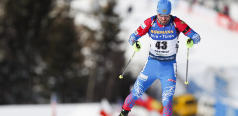 Биатлон: Логинов допустил промах и довольствовался бронзой в гонке преследования