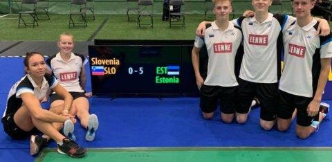 Eesti sulgpallikoondis tegi EM-il ajalugu