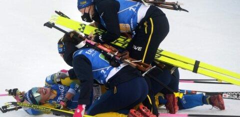 ВИДЕО: Какая гонка! Швеция вырвала победу у Беларуси на финишной прямой