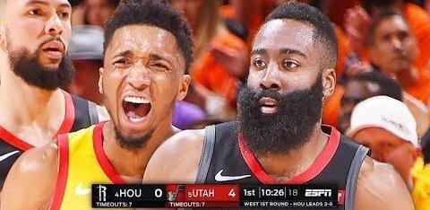 VIDEO | Harden alustas 15 järjestikuse möödaviskega, ent Rockets võitis sellest hoolimata