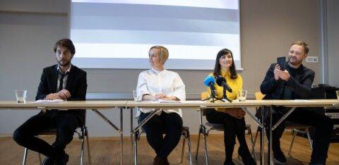 FOTOD | Rohelised ja Eesti 200 allkirjastasid ühisavalduse perekonnaseaduse muutmiseks
