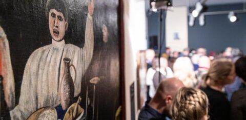 FOTOD | Mikkeli muuseumis avati Gruusia üksildase geeniuse Pirosmani maalide näitus