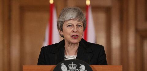May veeretas oma kõnes süü Brexiti venimises puhtalt parlamendi õlule