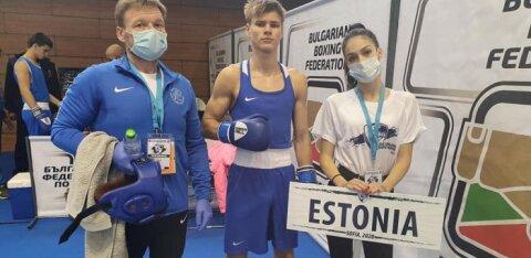 Эстонские боксеры завоевали медали юношеского чемпионата Европы!