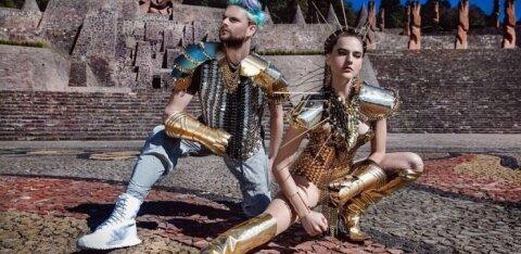 Loomamustriga tantsupüksid jalga! Dünaamiline duo Sofi Tukker hullutab kevadel taas Tallinna