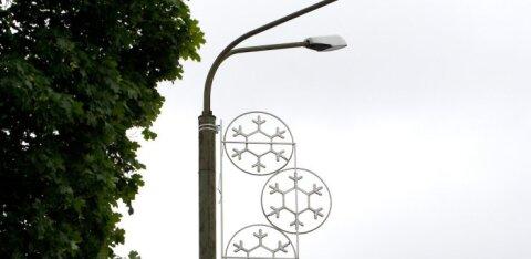 ЧП ни при чем. Власти Таллинна объяснили отключение ранним утром уличного освещения
