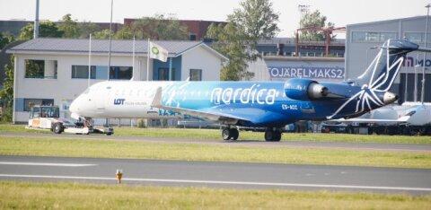 Nordica juht: enne riigiabi otsust ei ole uute lendude avamine Tallinnast plaanis